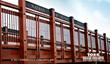 Handrails - York Timber Pedestrian Bridge