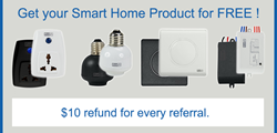 Free Bluetooth Smart Home Kit