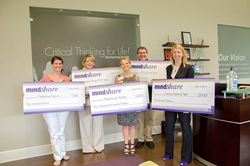 Mentoring Minds donates to non-profit organizations
