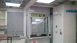 Erlab filtered fume hood installed at Harvard University