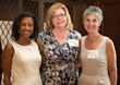 (L-R): Women's Leadership Council (WLC) founding members Angela Brock-Kyle, Janet Hasson, and Alisa Kesten.