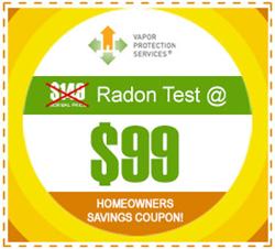 Radon Testing Coupon