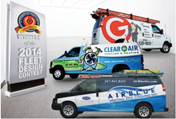 HVAC branding, HVAC logo