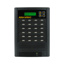 Aleratec-1-to-23-USB-HDD-Copy-Tower-SA-330121-USB-flah-drive-and-2-5-inch-hdd-suplicator-with-sanitization