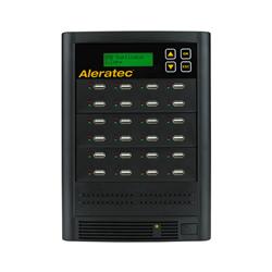 Aleratec-1-to-23-USB-HDD-Copy-Tower-SA-330121-USB-flah-drive-and-2-5-inch-hdd-suplicator-with-sanitization