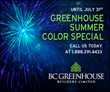 BC Greenhouse Builders Offers Best Summer Sale on Record