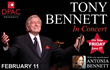 Special Valentine's Night Out with Tony Bennett Announced for February at DPAC