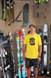 Goldman Sachs 10,000 Small Businesses graduate Matt Sterbenz, owner of 4FRNT Skis.
