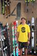 Goldman Sachs 10,000 Small Businesses graduate Matt Sterbenz, owner of 4FRNT Skis.
