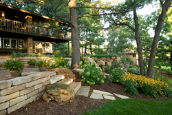 Low maintenance landscape designs using native plants are growing in popularity