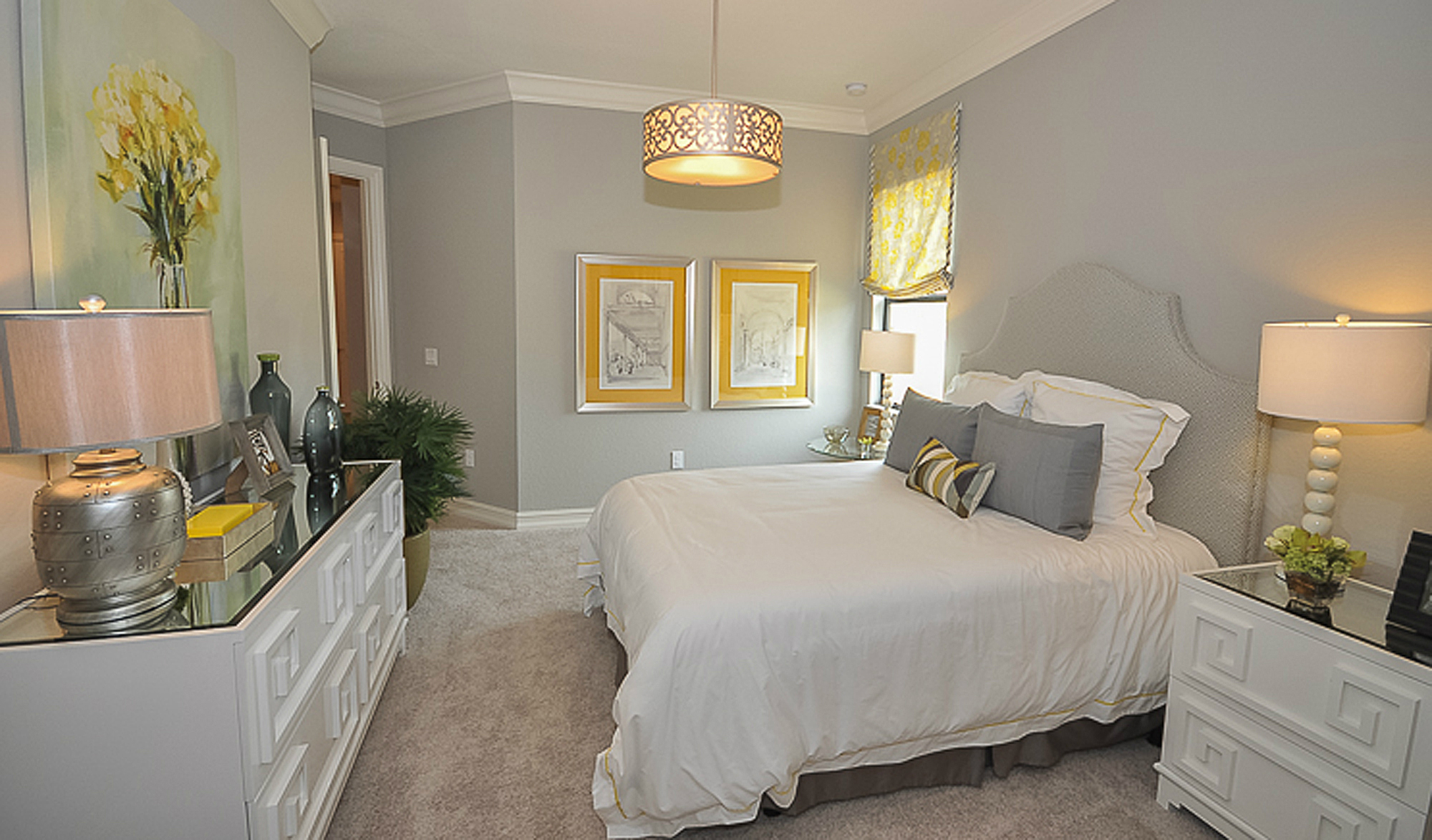Guest Room Beasley Henley Interior Design Naples FL