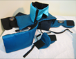 While the Dreamhelmet format of sleep mask attached to pillow is preserved, many different materials and designs are tested.