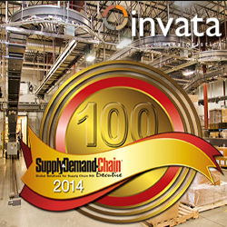 Invata Intralogistics makes Top 100 Great Supply Chain Projects List - 2014