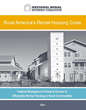 Affordable Rental Housing Crisis in Rural America