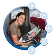 Tips for Traveling with an Infant on an Airplane