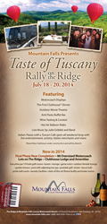 Taste of Tuscany Rally