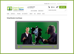 green screen talent now video spokesperson virtual director service