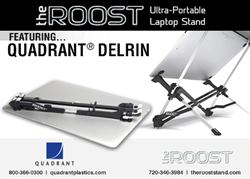 The Roost created a slim and sleekly designed laptop stand that is ergonomically correct, ultra portable, and structurally sound.