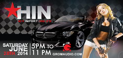 Hot Import Nights show - GROM Bluetooth Android USB car kits