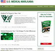 New US Medical Marijuana News Website USMedicalMarijuana.net Launches