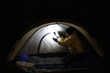 LuminAID solar lights are ideal for use as tent and nighttime campsite lights.