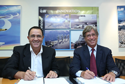 skyTran and IAI Agreement Signing