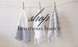 Soft and soothing organic towels and linen.