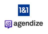 Agendize and 1&1 logo
