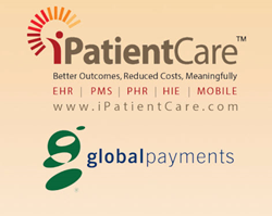 iPatientCare Practice Management System Integrated with Global Payments
