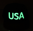 CF919T USA GLOW IN THE DARK SNAPBACK