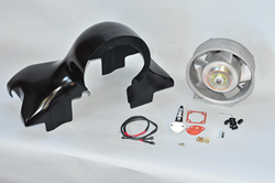 911 Style Fan Shroud Kit Components