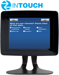 InTouch iPad Welcome Kiosk