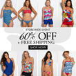 60% Off Storewide Swimwear Sale at Hapari.com