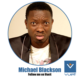 Michael Blackson joins Vueit