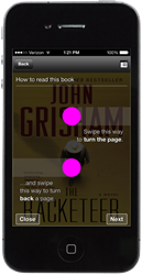 John Grisham's The Racketeer as seen in the OverDrive Embedded Reader