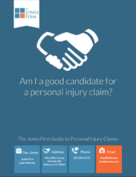 The Jones Firm personal injury ebook