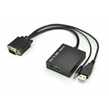 VGA with Audio to HDMI Converters