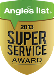 Moss Building and Design Super Service Award 2013