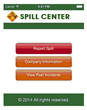Spill Center Mobile Instantly Reports Environmental Spills