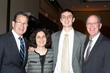 Special Recognition Winner Brian Meersma with his parents and Governor Malloy