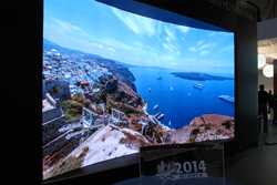 Prysm 4K UHD Video Wall at InfoComm 2014