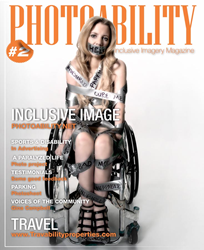 Image is taken to illustrate the challenges faces by those living with paralysis