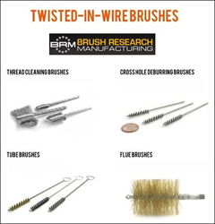 BRM Twisted-in-Wire Brushes