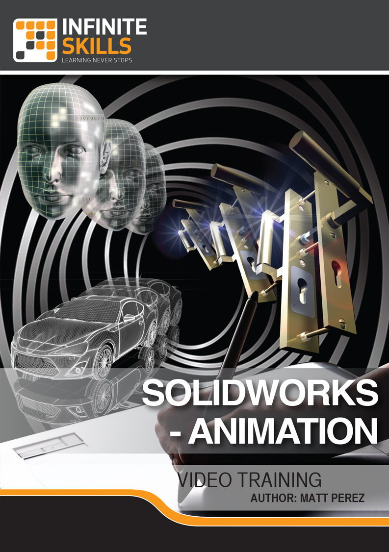 Infinite skills solidworks animation tutorial helps designers infinite skills solidworks animation tutorial helps designers create and render animations and walkthroughs baditri Image collections