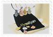 Picture of the Easter Seals Gives Back bracelets designed by jewelry line ElyseRyan