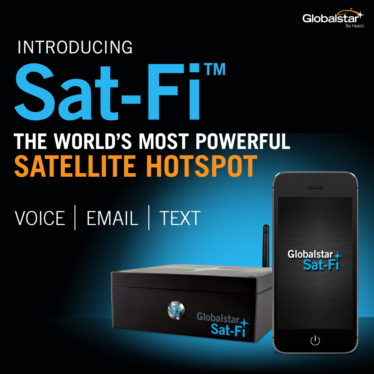 Wifi Network For Modern Devices: Globalstar's Sat-Fi , The World's Most Powerful Satellite