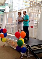 Jason Bromer, M.D. and Barbara Collura
