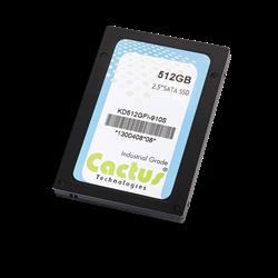 "Cactus Technologies 910S 2.5"" Industrial Grade SATA III SSD"
