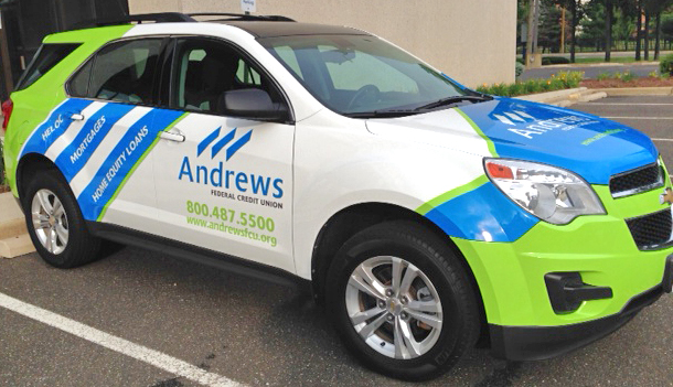 Ford Credit Account >> Andrews Federal Credit Union Unveils New Wrapped Vehicle