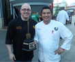 Hotel Phillips' culinary team, Chef Justin Voldan (left) and Sous Chef Himesh Zimba (right), won the coveted Golden Fork Award.